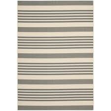 Yellow And Grey Outdoor Rug Safavieh Courtyard Stripe Grey Bone Indoor Outdoor Rug Free