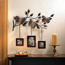 wholesale butterfly wall wood hanging picture photo frames cheap