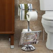 Decorative Toilet Paper Holders Bathroom Decorative Free Standing Toilet Paper Holder For Pretty