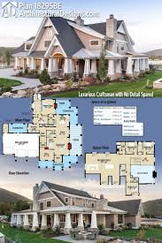 Craftsman Farmhouse Country Style House Plans One Floor Youtube Brick Farmhouse With
