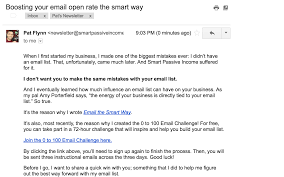 Business Promotion Email Template by Email Marketing Strategies The Smart Passive Income Blog