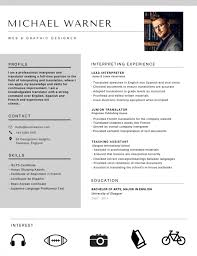 Best Resume Template In English by 50 Most Professional Editable Resume Templates For Jobseekers