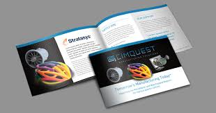manufacturing company branding brochure design and trade show