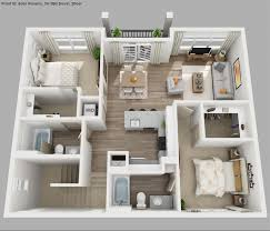 floor plan with 3 bedrooms solis apartments floorplans waverly