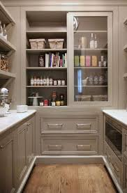 Kitchen Cabinet With Sliding Doors Grey Pantry Cabinets With Sliding Doors Transitional Kitchen