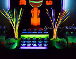 glow in the party basketball glow in the birthday aiden anden s glow in
