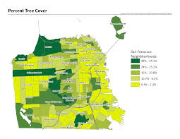 Map Of San Francisco Districts by Maps San Francisco Climate And Health Profile