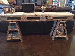 Diy Pallet Desk 10 Pallet Desk And Tables Ideas Pallets Designs