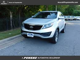 2014 used kia sportage awd 4dr lx at honda of fayetteville serving