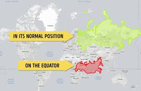 south america map equator after you ve seen these maps your image of the world will never