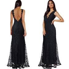 robe de cocktail longue pour mariage maxi robe de soirée cocktail longue sirène fourreau col v