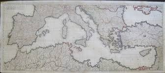 Map Of Mediterranean Countries Antique Maps Of The Mediterranean