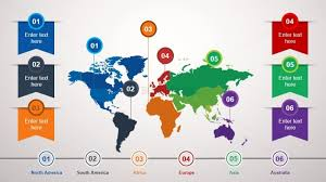World Map Template Powerpoint animated world map powerpoint slide slidemodel