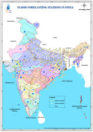 India States Map by Cwc National Flood Forecasting Network