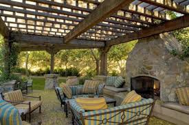 Building A Freestanding Pergola by Large Pergola Crafts Home