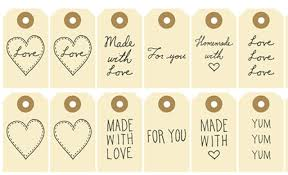 free printables 8 gift tags for crafts or gifts