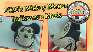 the collector halloween mask rare 1930 u0027s disney mickey mouse halloween costume mask do you