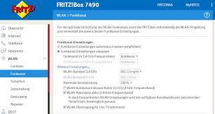 benutzeroberfläche fritz repeater fritzbox 7490 wlan probleme ursache lösung für