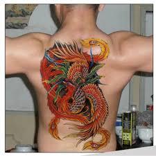 jdm honda tattoos 48 35cm large full back fish tattoos men waterproof big temporary