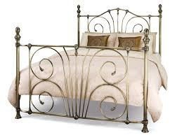 bedroom furniture metal double bed frame brass bed frame iron