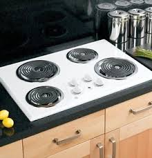 Ebay Cooktop Electric Stove Top High Powered 4 Four Burners Cooktop Range Oven