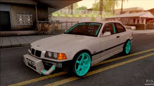 bmw drift cars bmw m3 e36 drift v2 for gta san andreas