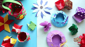 making paper flowers for kids in a few simple steps video