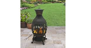 Bronze Cast Iron Chiminea Better Homes And Gardens Cast Iron Chiminea Antique Bronze Just