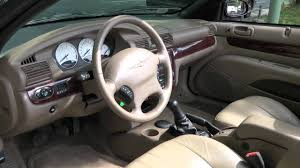 chrysler sebring cabrio 2 0 lx youtube