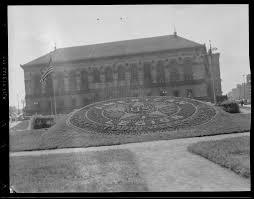 American Legion Flag American Legion Flag In Front Of Boston Public Library Digital