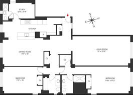 Floor Plan Of A Living Room What Is A Classic Six Streeteasy