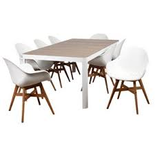 modern eight person outdoor dining sets allmodern