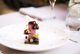 carvi cuisine chocolate elegance blackberries mint and carvi