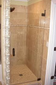 Single Frameless Shower Door Lovable Single Shower Doors With Frameless Shower Doors