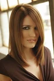 mod le coupe de cheveux coupe des cheveux mi modele de coiffure mi avec meche