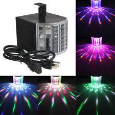 sound activated dj lights wowtou dj lights dmx sound music activated 18w rgb led strobe effect