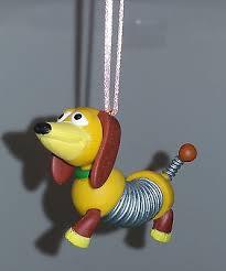 disney pixar story pvc custom ornament slinky