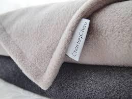luxury fleece pet blanket by chau