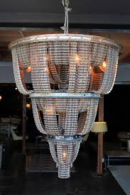 Chandelier Made From Plastic Bottles Chandeliers Made From Salvaged Bicycle Parts Colossal
