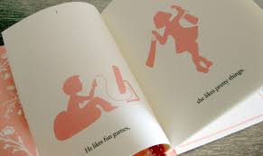 glory avery u0027s silhouette storybook wedding invitations