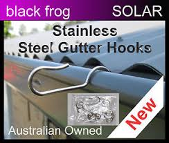how to hang christmas lights on gutters 40 x stainless steel gutter hooks hang christmas lights quickly