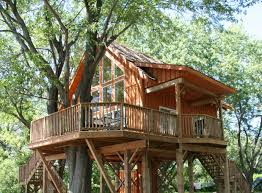 Tree House Home by Robin U0027s Roost Treehouse St Lawrence Parks Commission