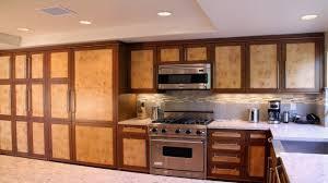 modern kitchen burl maple custom kitchen cabinet image gallery
