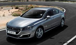 peugeot 2015 update2 new photos 2015 peugeot 508 facelifted with new led drls