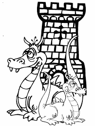 coloring dragon coloring pages 14