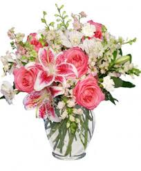 florist fort worth pink white dreams flower arrangement in fort worth tx fort