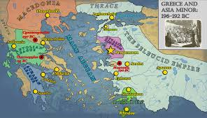 Asia Minor Map by Asia And The Near East Archives Turning Points Of The Ancient World