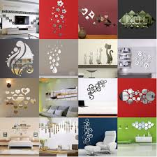modern mirror style removable decal art mural wall sticker home modern mirror style removable decal art mural wall sticker home room diy decor