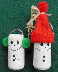 12 cork crafts getting festive cork crafts cork and