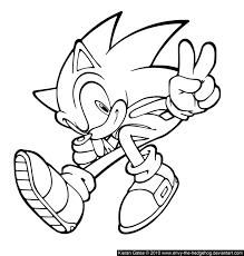 Coloriages sonic 3  Coloriage Sonic le hérisson  Coloriages pour